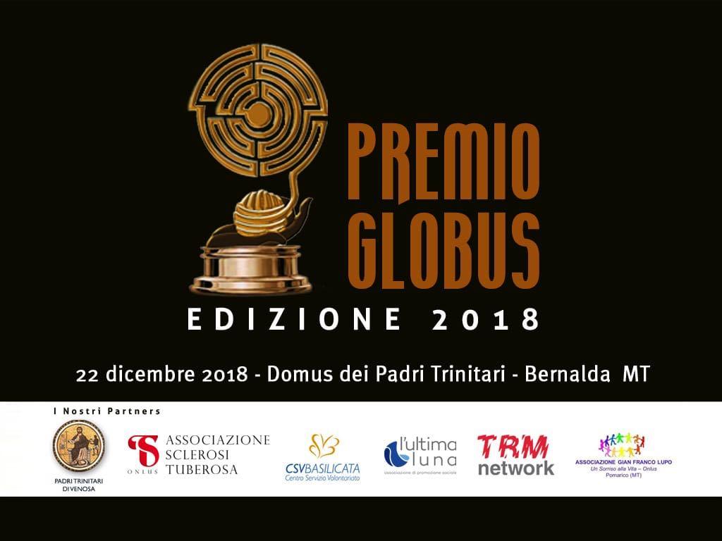 premio globus 2018 onlus associazione socio culturale bernalda basilicata