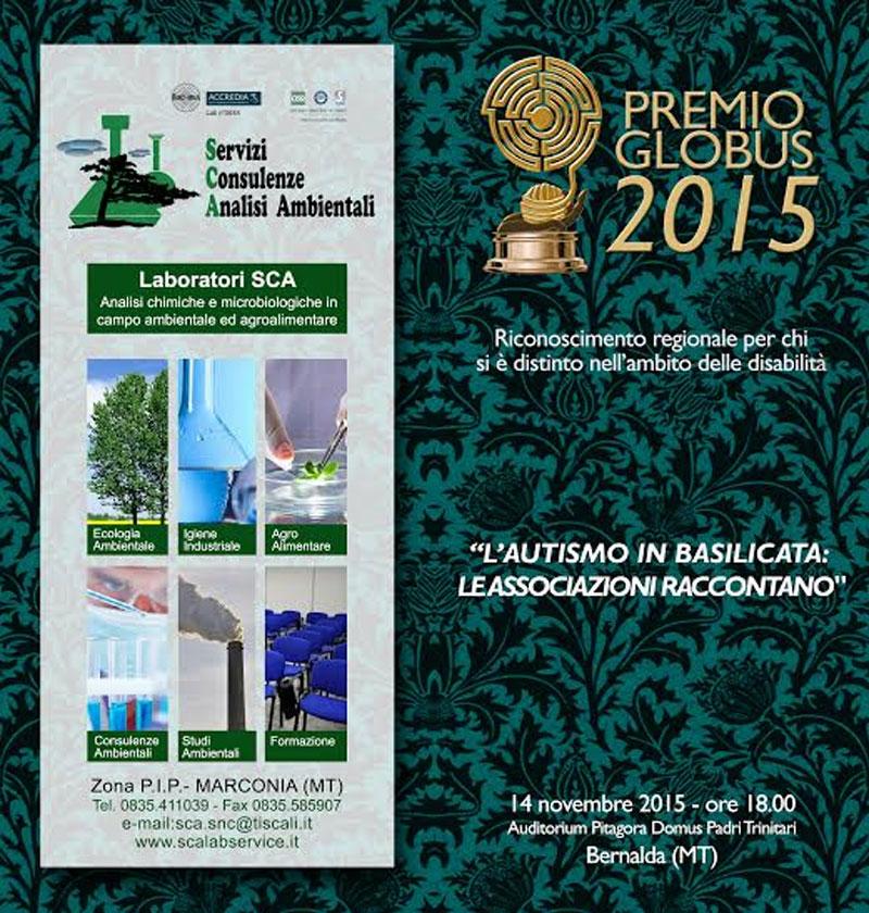 locandina-2-premio-globus-onlus-2015-bernalda-matera-basilicata
